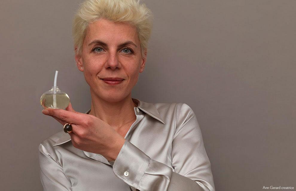 Ann Gerard, jewellery designer, joaillerie creatrice, parfum, fragrance,
