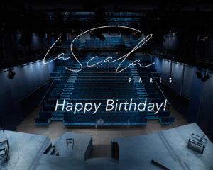 1 years anniversary La Scala Paris